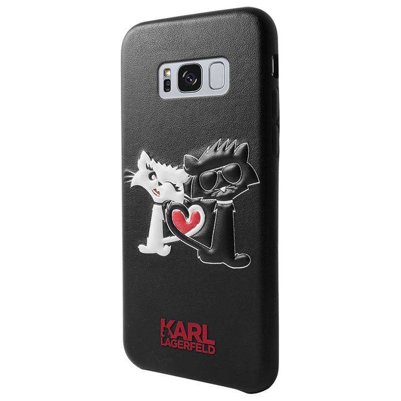 Karl Lagerfeld Choupette In Love Case - Etui Samsung Galaxy S8+ (Black)