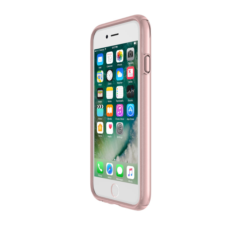 Speck Presidio Show - Etui iPhone 8 / 7 / 6s / 6 (Clear/Rose Gold)