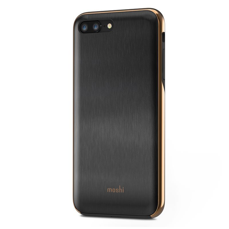 Moshi iGlaze - Etui iPhone 8 Plus / 7 Plus (Armour Black)