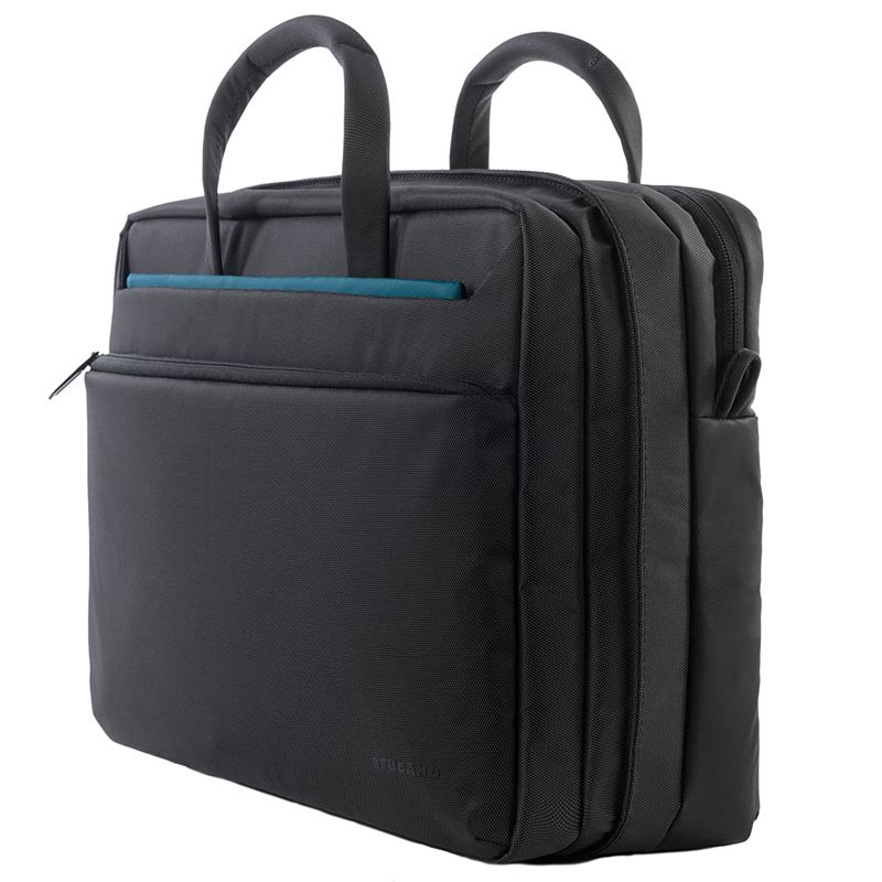 "Tucano Work_Out 3 Pop-up bag - Torba MacBook Pro 15"" / MacBook Pro 15"" Retina / Ultrabook 15"" (czarny)"