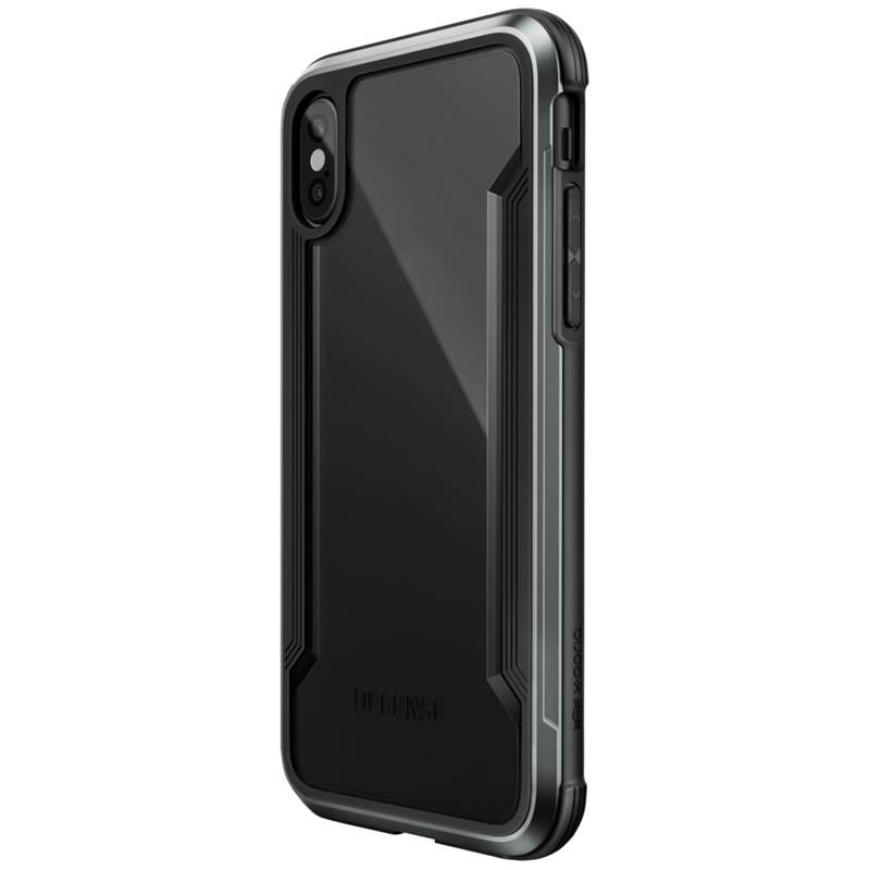 X-Doria Defense Shield - Etui aluminiowe iPhone X (Black)
