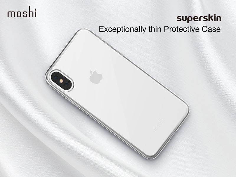 Moshi SuperSkin - Etui iPhone Xs / X (Stealth Black)