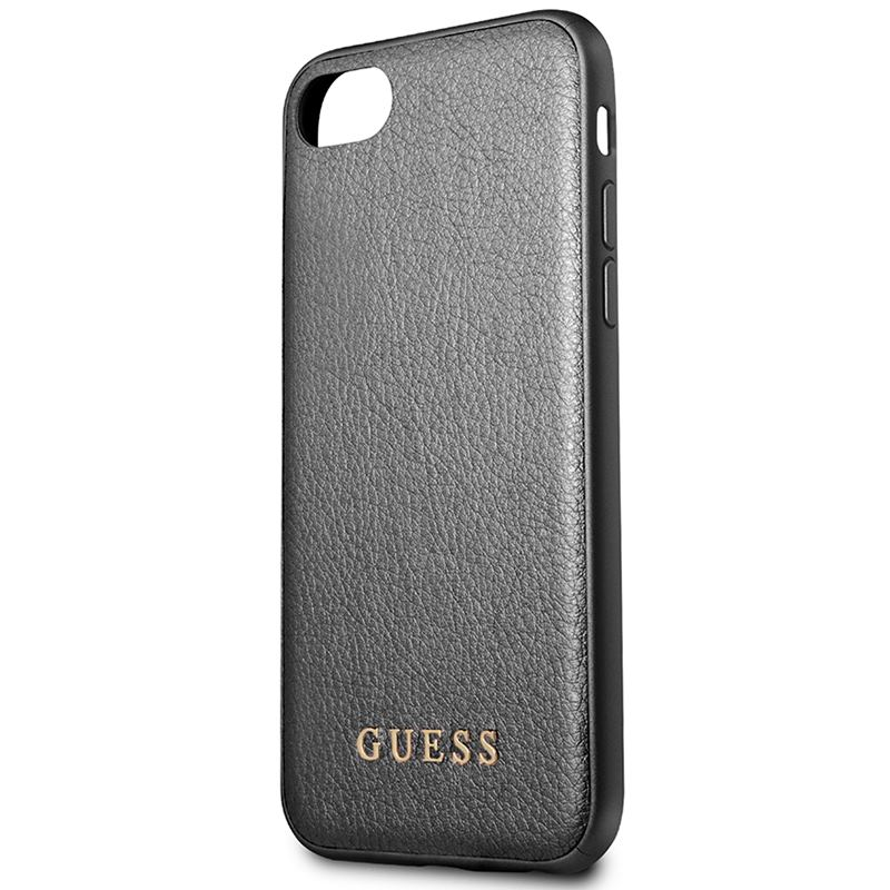 Guess Iridescent - Etui iPhone 8 / 7 (czarny)