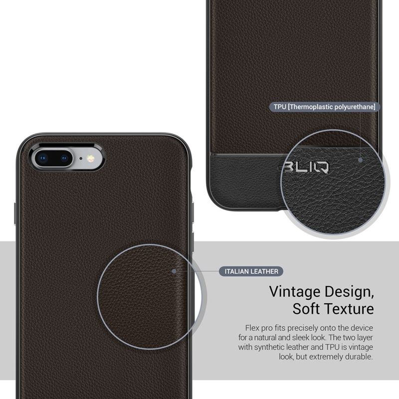 Obliq Flex Pro - Etui iPhone 8 Plus / 7 Plus (Espresso)