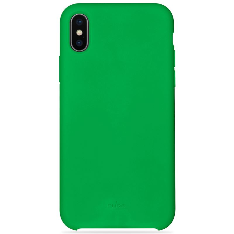 PURO ICON Cover - Etui iPhone X (zielony) Limited edition