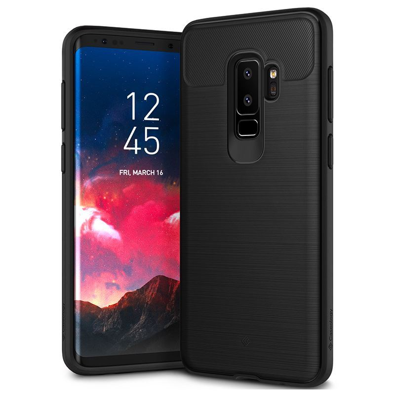 Caseology Vault Case - Etui Samsung Galaxy S9+ (Black)