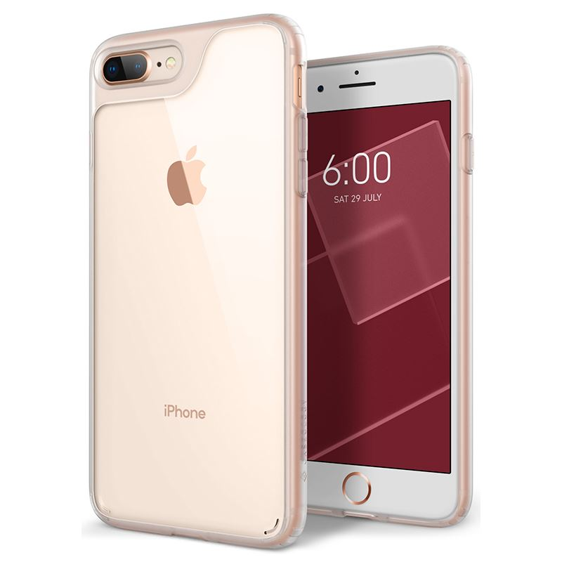 Caseology Waterfall Case - Etui iPhone 8 Plus / 7 Plus (Frost Clear)