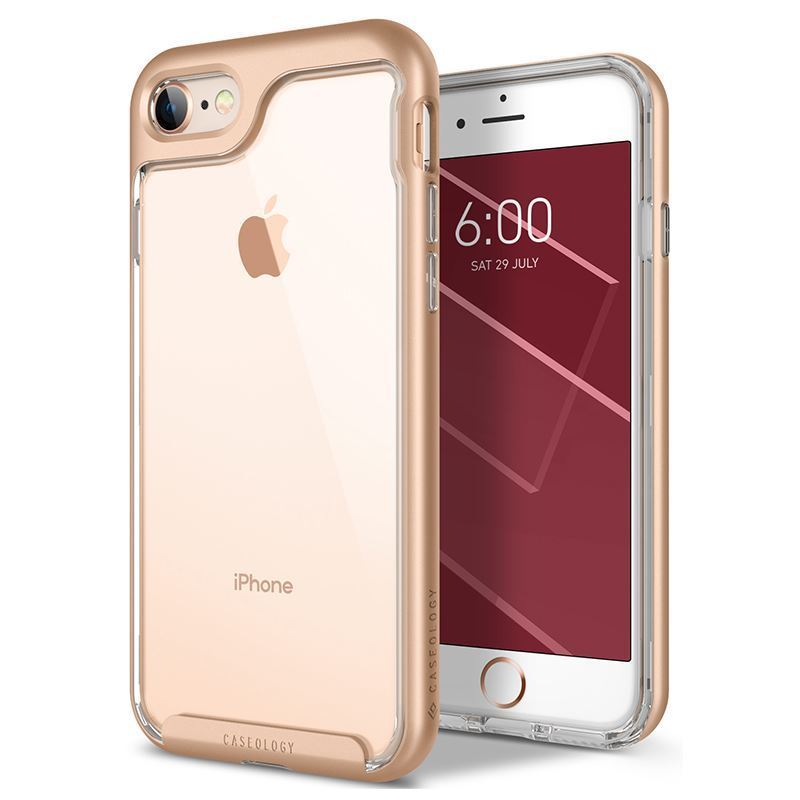 Caseology Skyfall Case - Etui iPhone 8 / 7 (Gold)