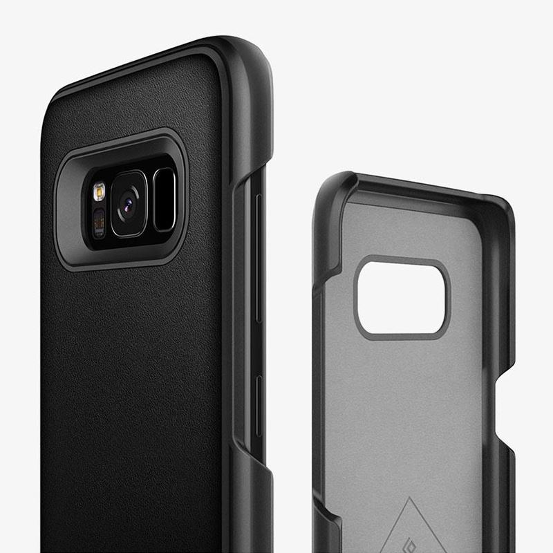 Caseology Fairmont Case - Etui Samsung Galaxy S8 (Black)