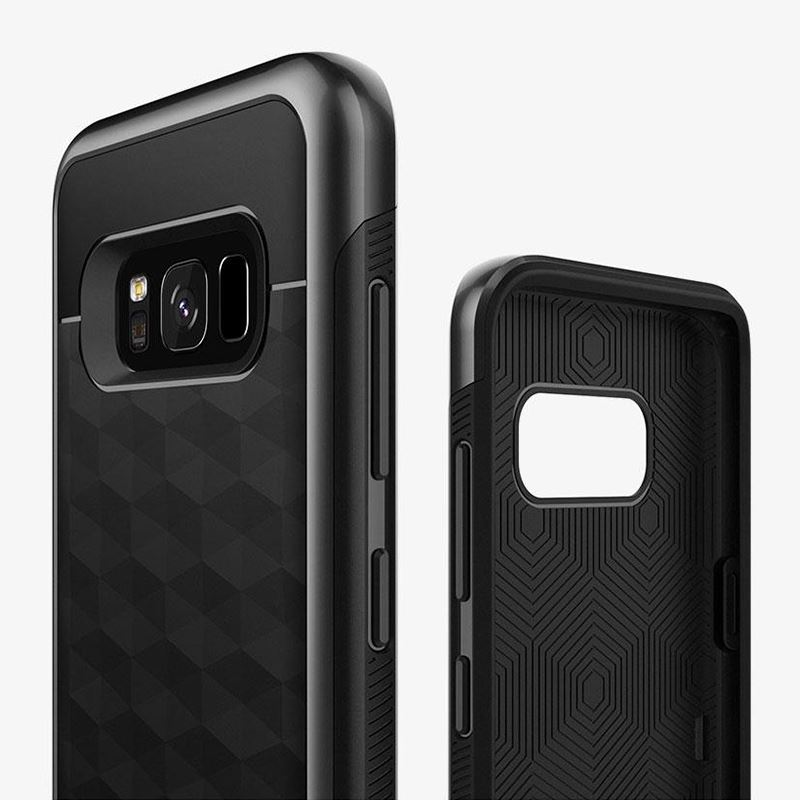 Caseology Parallax Case - Etui Samsung Galaxy S8+ (Black)