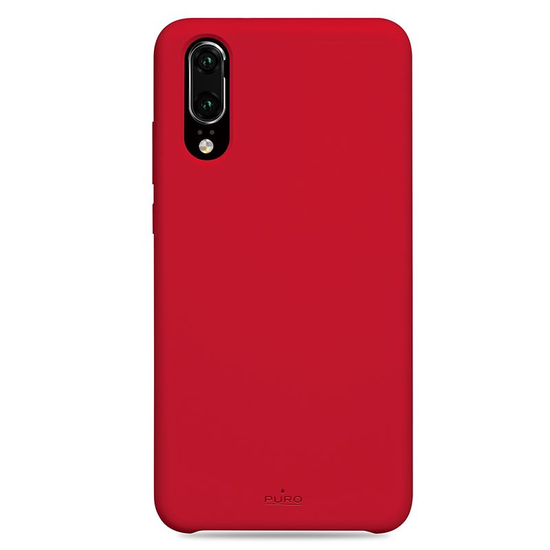 PURO ICON Cover - Etui Huawei P20 (czerwony) Limited edition