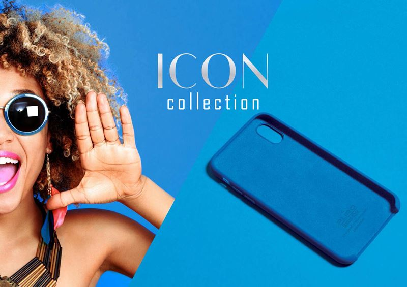 PURO ICON Cover - Etui Samsung Galaxy S9 (czerwony) Limited edition