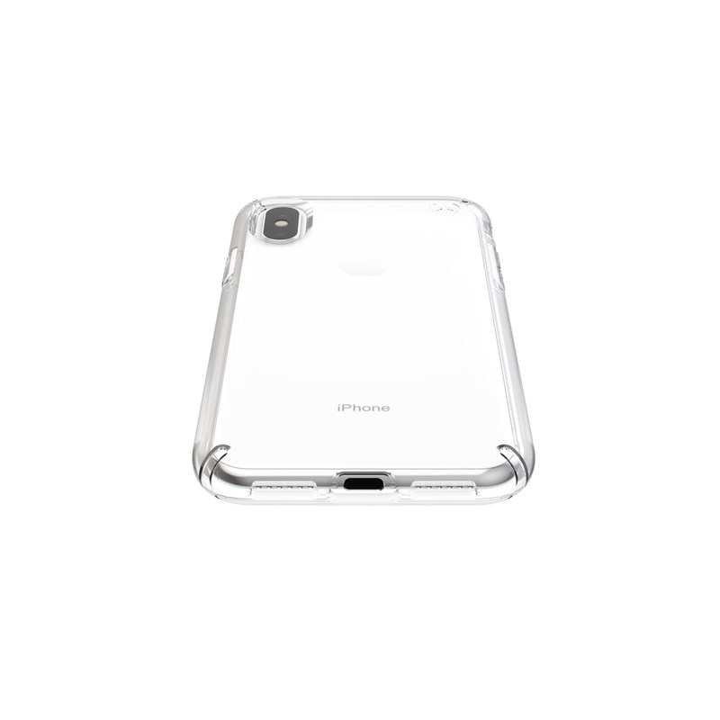 Speck Presidio Stay Clear - Etui iPhone Xs / X (Clear/Clear)