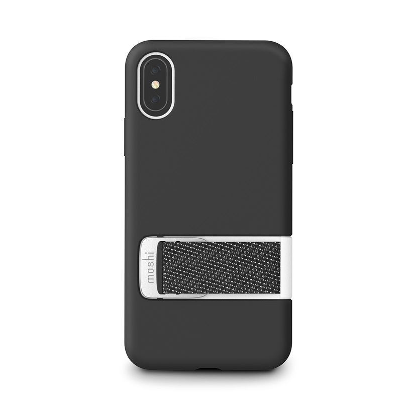 Moshi Capto - Etui iPhone Xs / X (Mulberry Black)
