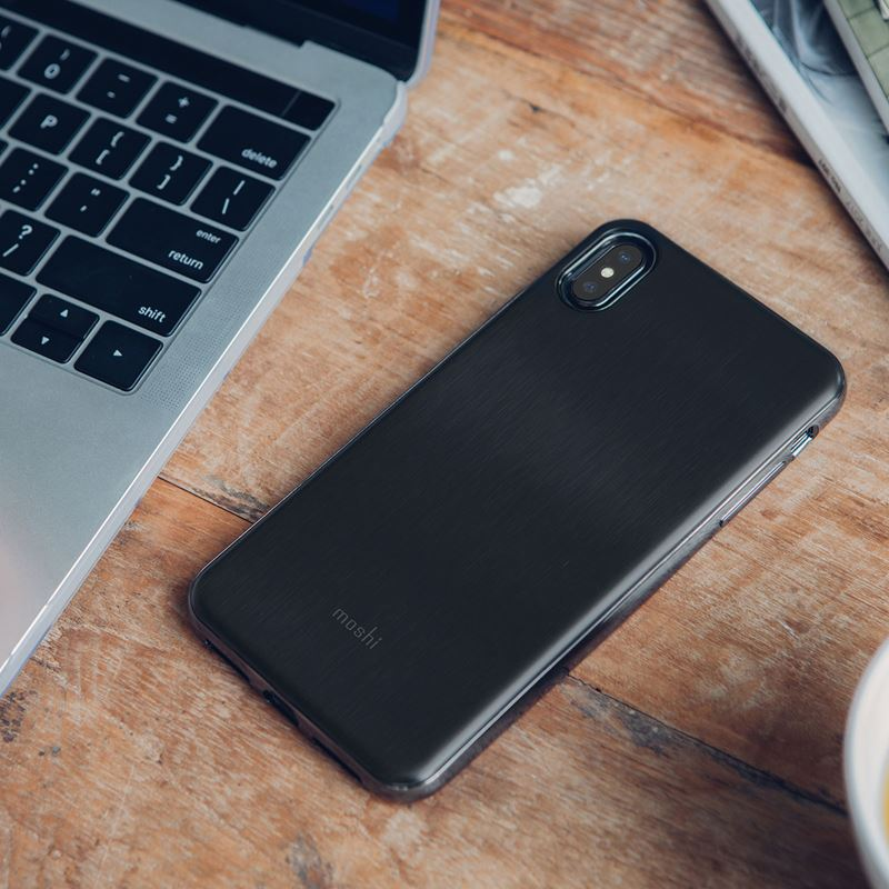 Moshi iGlaze - Etui iPhone Xs Max (Armour Black)