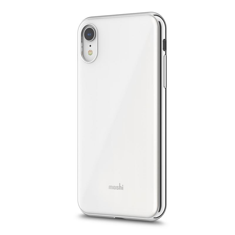 Moshi iGlaze - Etui iPhone XR (Pearl White)