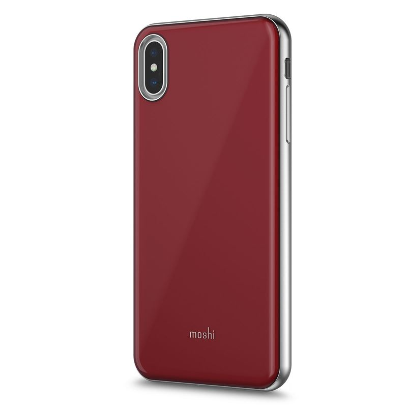 Moshi iGlaze - Etui iPhone Xs Max (Merlot Red)