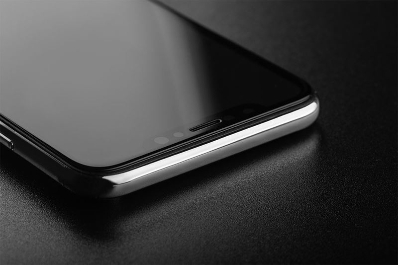 Moshi IonGlass - Szkło ochronne na ekran do iPhone XR (Black)