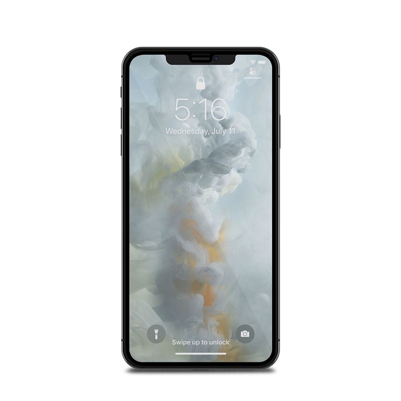 Moshi IonGlass - Szkło ochronne na ekran do iPhone Xs Max (Black)