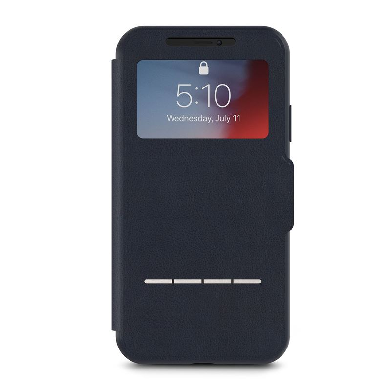 Moshi SenseCover - Etui iPhone XR (Midnight Blue)