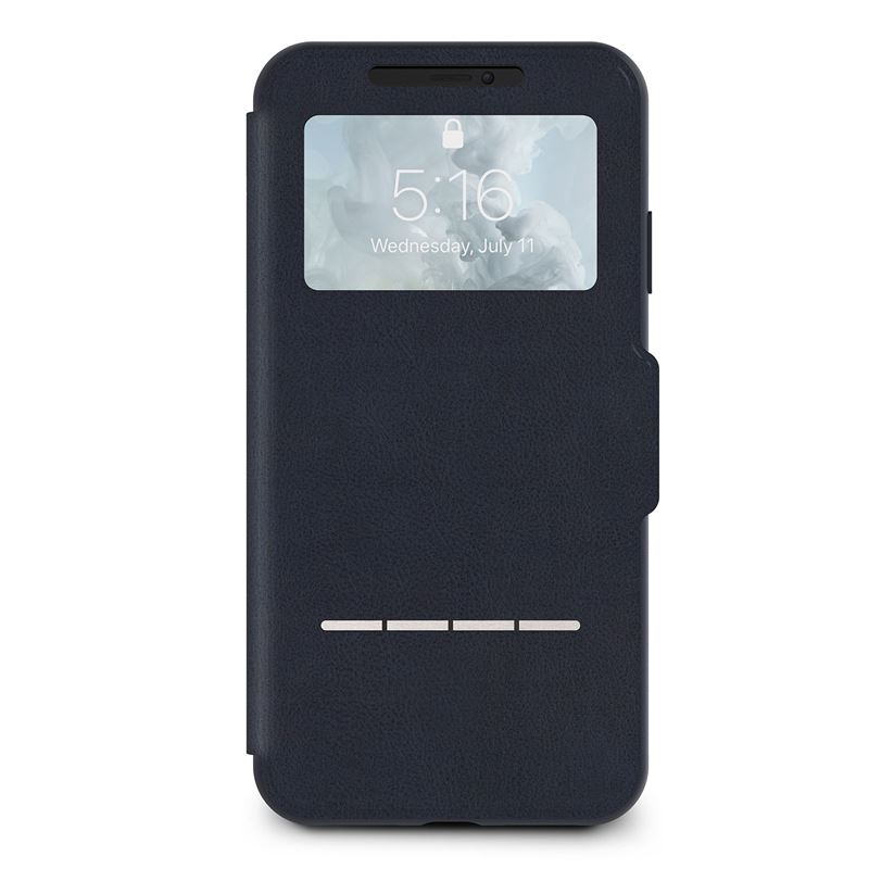 Moshi SenseCover - Etui iPhone Xs Max (Midnight Blue)