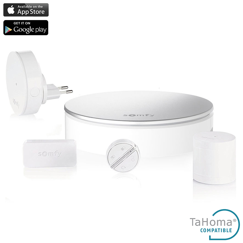 Somfy Home Alarm Starter Pack - System alarmowy (iOS/Android)