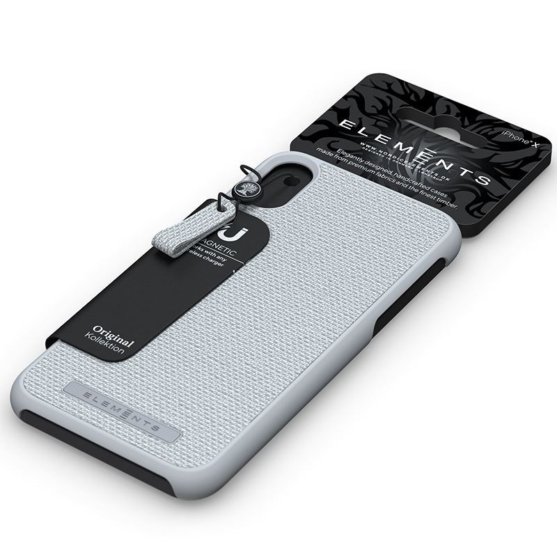 Nordic Elements Original Idun - Etui iPhone 8 Plus / 7 Plus / 6s Plus / 6 Plus (Light Grey)