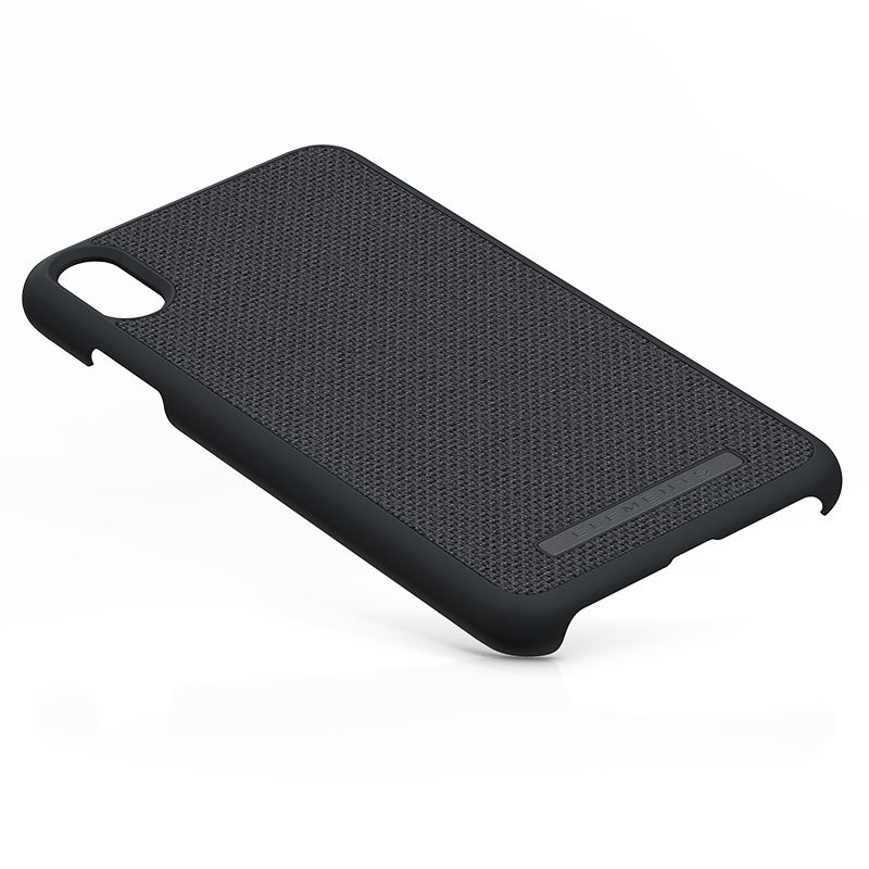 Nordic Elements Original Idun - Materiałowe etui iPhone Xs Max (Dark Grey)