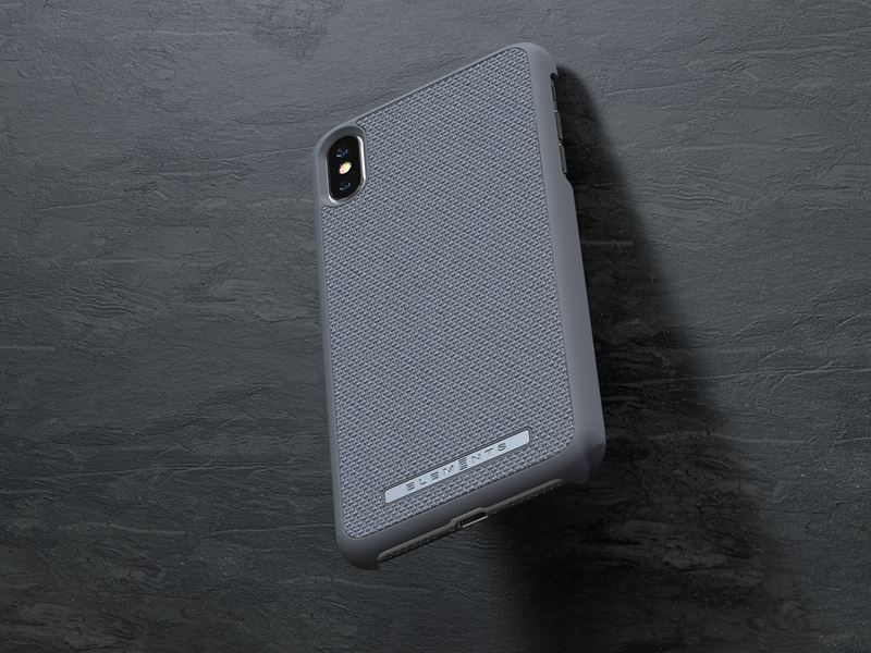 Nordic Elements Original Idun - Etui iPhone Xs Max (Mid Grey)
