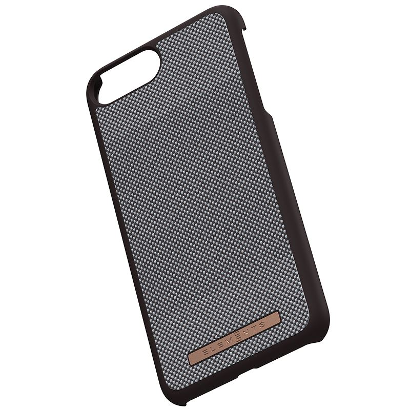 Nordic Elements Saeson Idun - Etui iPhone 8 Plus / 7 Plus / 6s Plus / 6 Plus (Dark Brown Pattern 1)