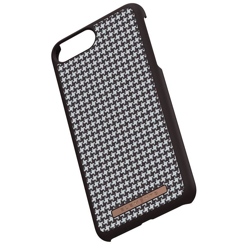 Nordic Elements Saeson Idun - Etui iPhone 8 Plus / 7 Plus / 6s Plus / 6 Plus (Dark Brown Pattern 2)