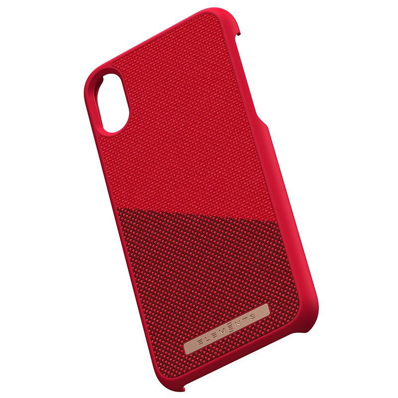 Nordic Elements Saeson Freja - Etui iPhone Xs / X (Red)