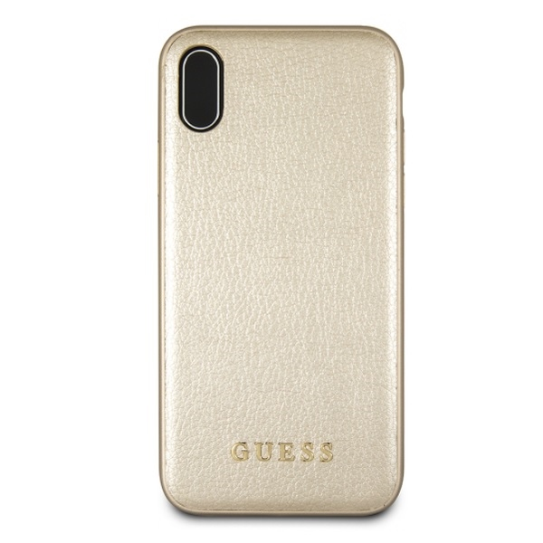 Guess Iridescent - Etui iPhone Xs Max (złoty)