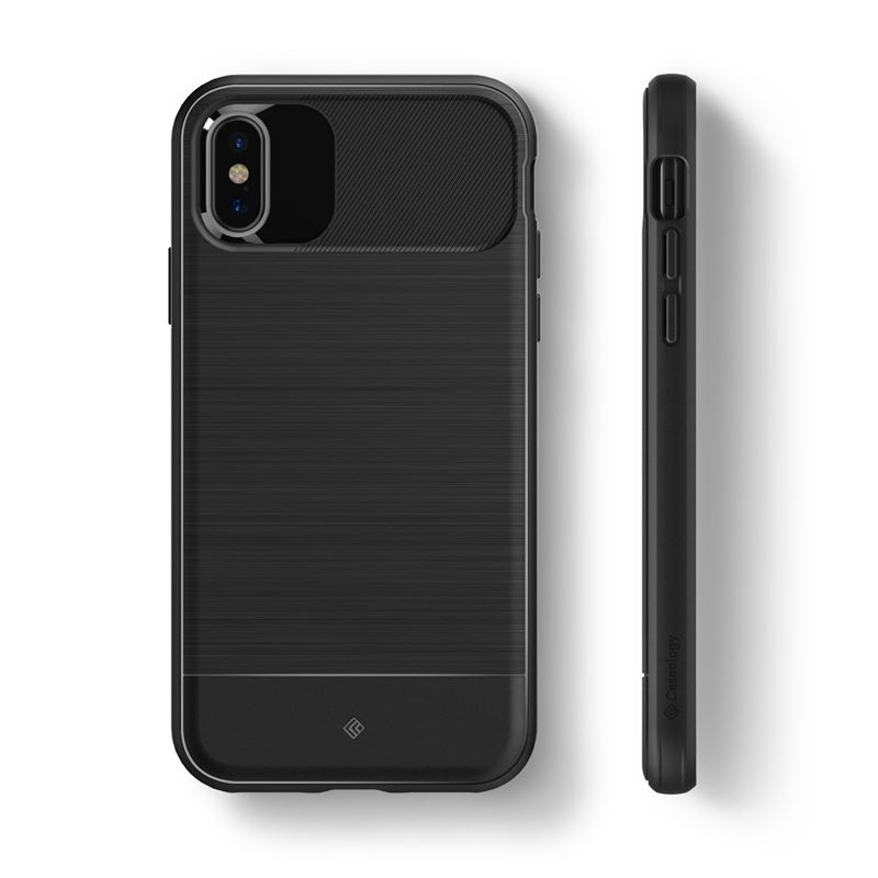 Caseology Vault Case - Etui iPhone Xs / X (Black)