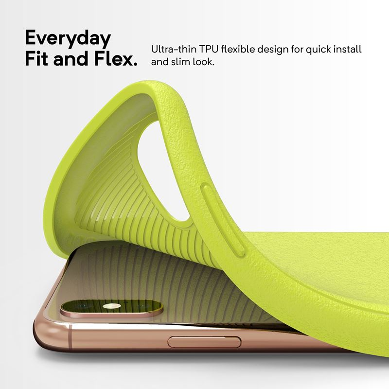 Caseology Vault Case - Etui iPhone Xs Max (Lime)
