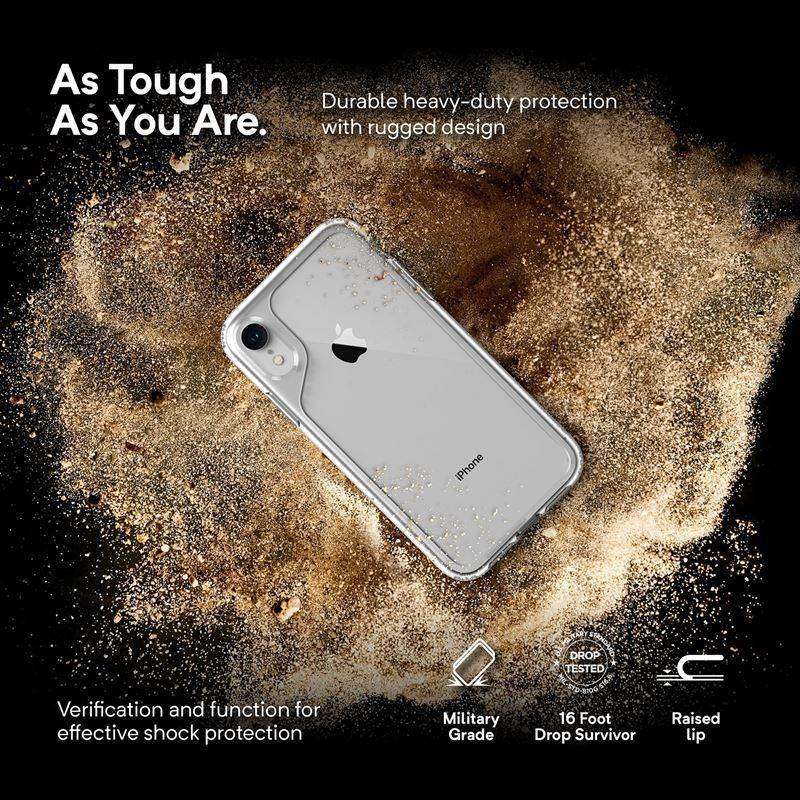 02f9c1dfb1c60e Caseology Waterfall Case - Etui iPhone XR (Clear)