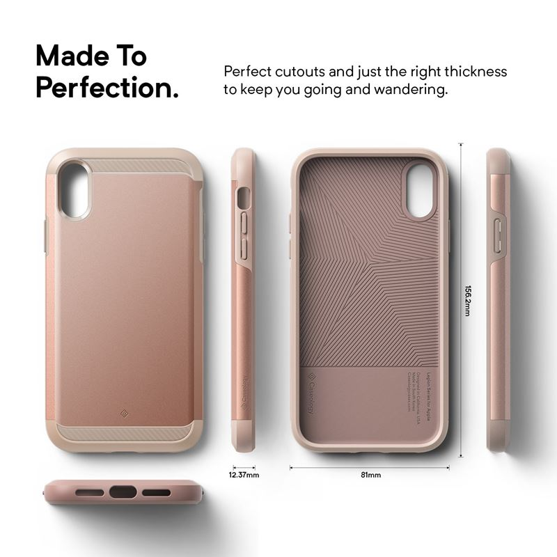 Caseology Legion Case - Etui iPhone XR (Rose Gold)