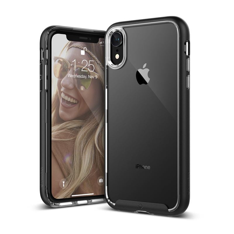 Caseology Skyfall Case - Etui iPhone XR (Black)