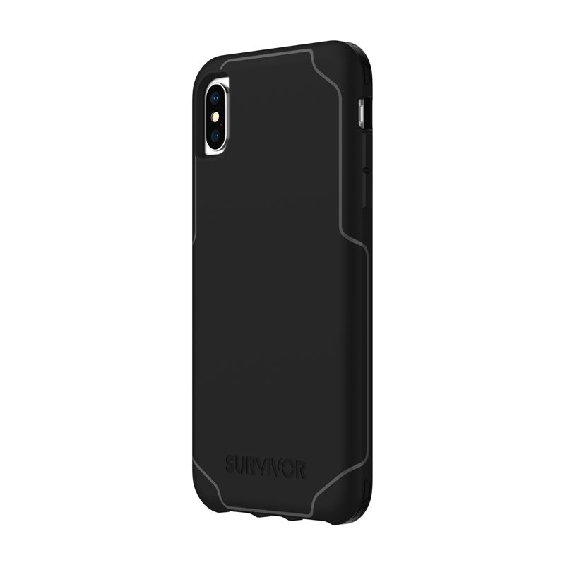 Griffin Survivor Strong - Etui iPhone Xs Max (czarny)