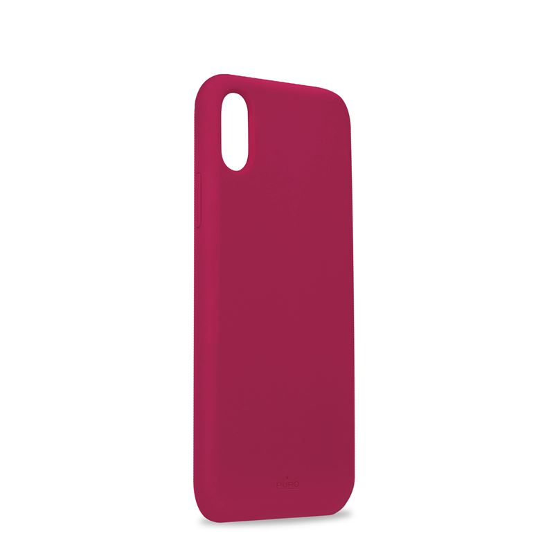 PURO ICON Cover - Etui iPhone XR (fuksja) Limited edition