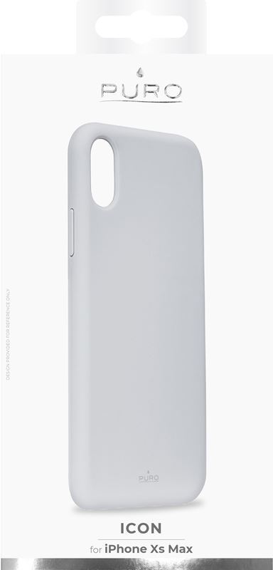 PURO ICON Cover - Etui iPhone Xs Max (jasny niebieski) Limited edition