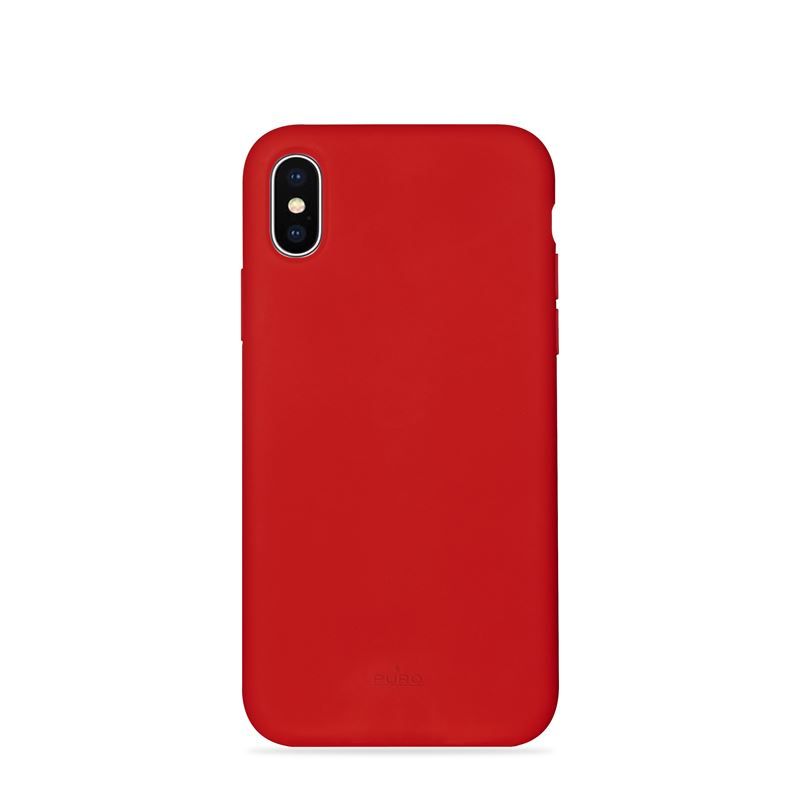 PURO ICON Cover - Etui iPhone Xs Max (czerwony) Limited edition