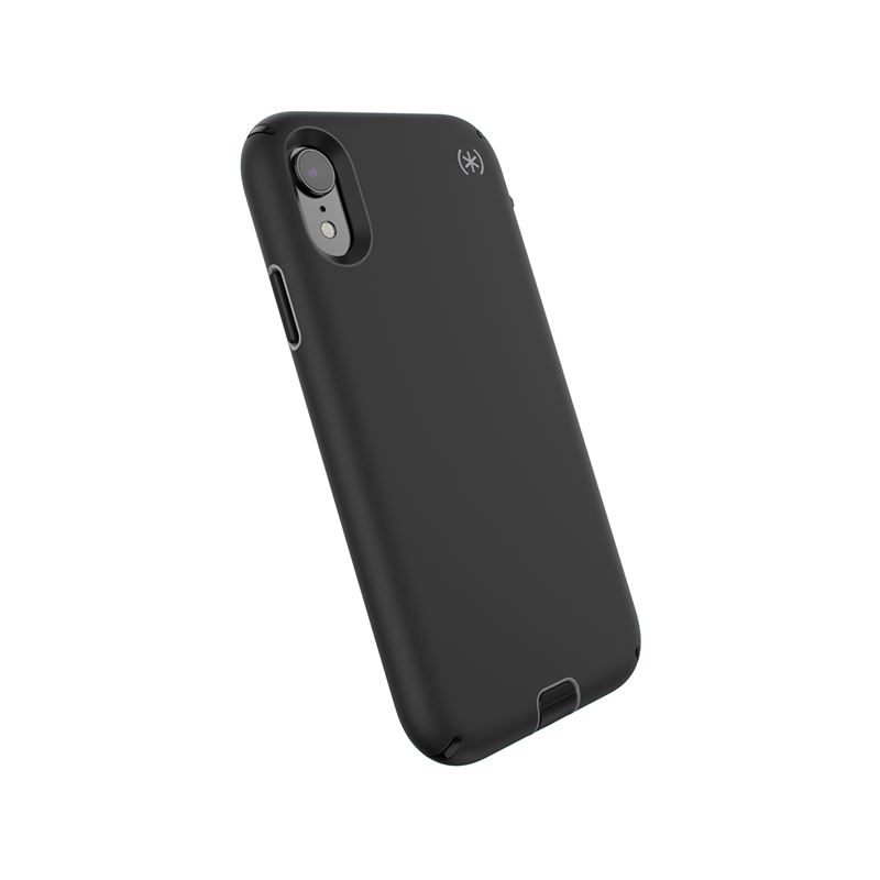 Speck Presidio Sport - Etui iPhone XR (Black/Gunmetal Grey/Black)