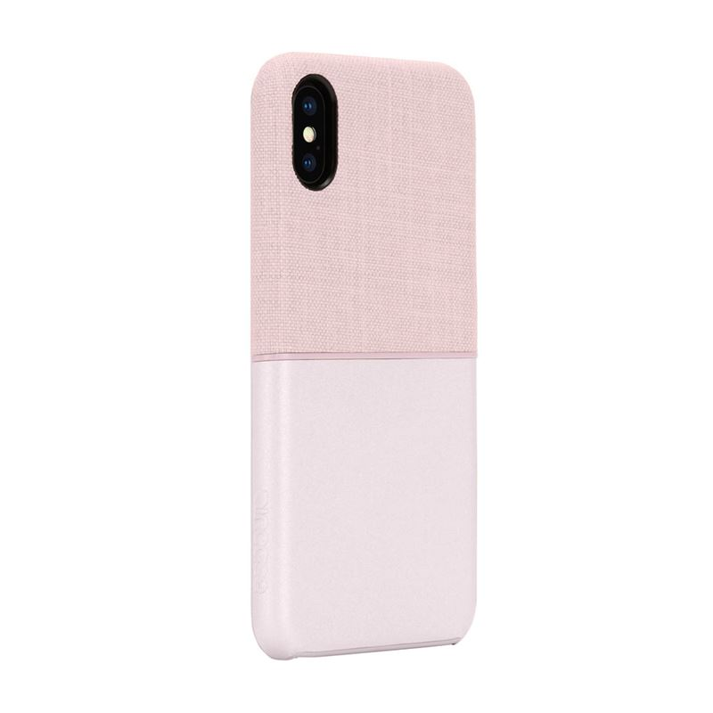 Incase Textured Snap - Etui iPhone XR (Rose Gold)