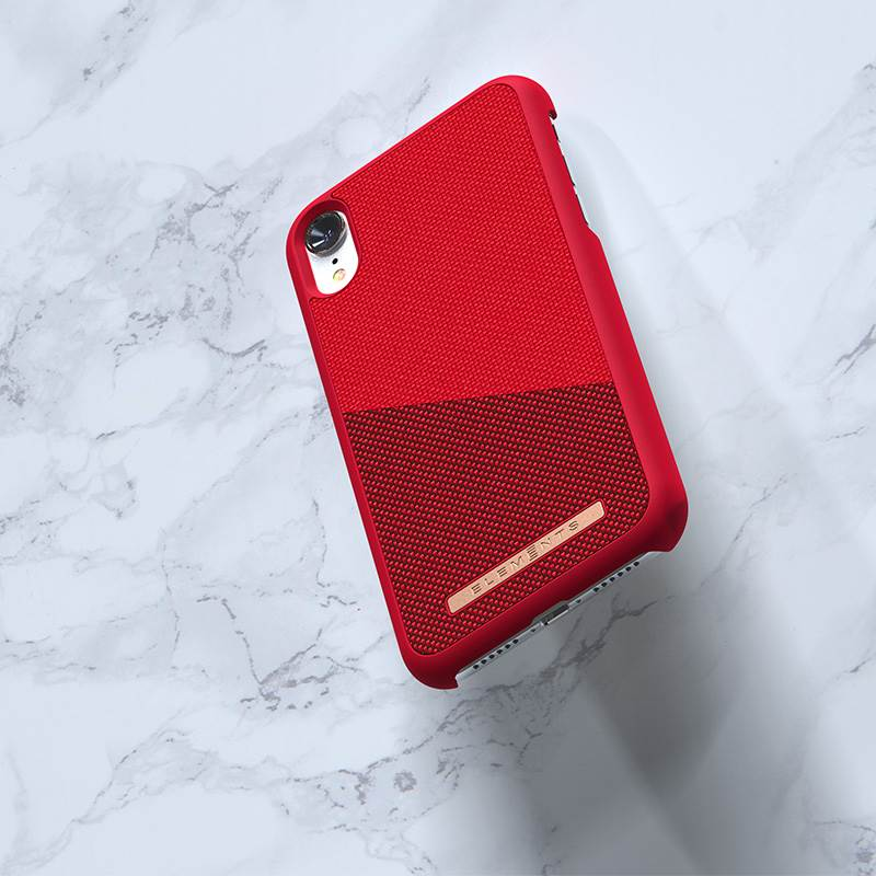 Nordic Elements Saeson Freja - Etui iPhone XR (Red)