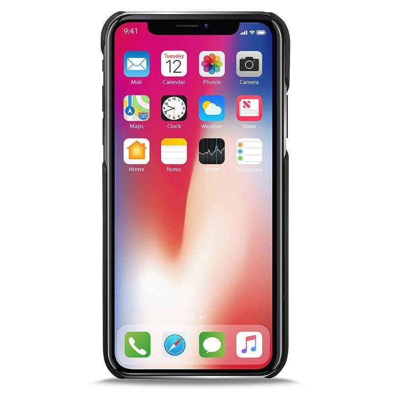 PURO Wallet Detachable - Etui 2w1 iPhone XR (czarny)