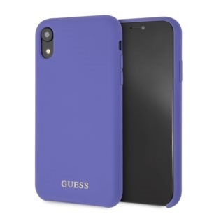Guess Silicone - Etui iPhone XR (Purple)