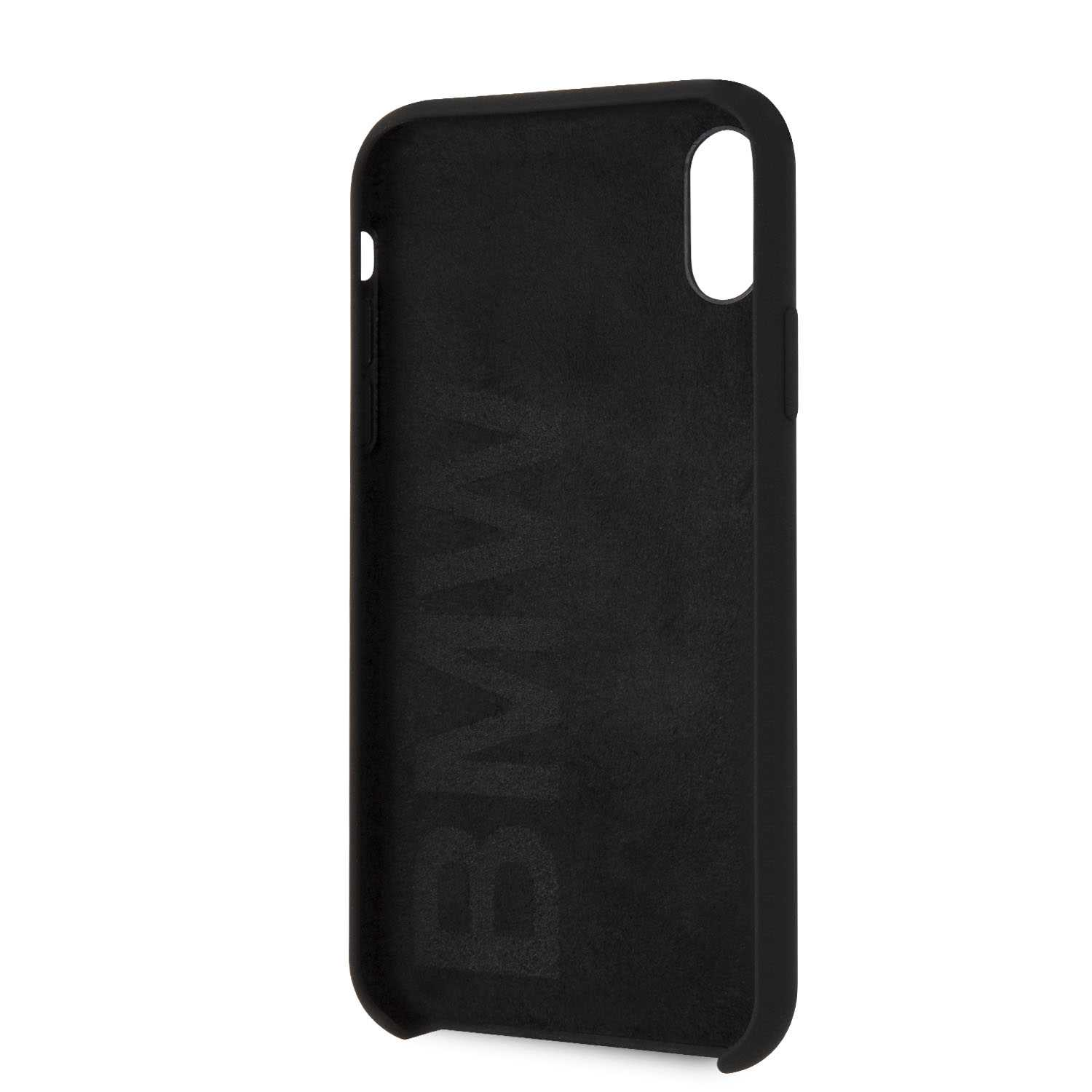 BMW Silicone Hard Case - Etui iPhone Xs Max (Black)