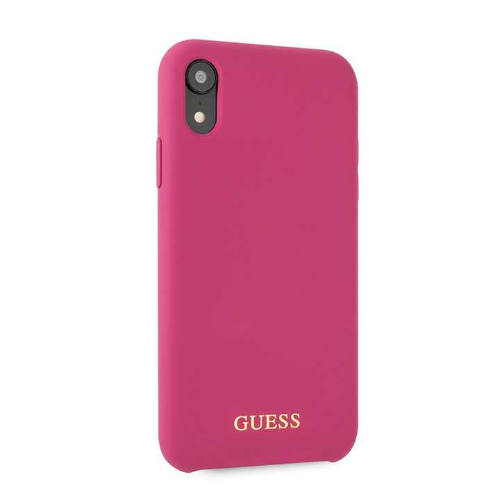 Guess Silicone - Etui iPhone XR (Pink)