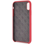 Guess Silicone - Etui iPhone XR (Red)